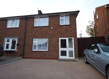 Thumbnail 3 bed semi-detached house to rent in Ruxley Close, Sidcup