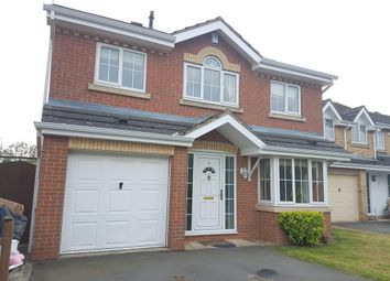 Thumbnail 4 bed detached house to rent in Hill Field, Oadby, Leicester