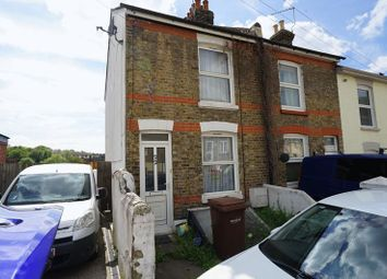 Thumbnail 3 bed terraced house for sale in Queens Road, Chatham