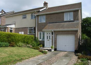 Thumbnail 3 bed detached house to rent in Greenbank Close, Grampound Road, Truro