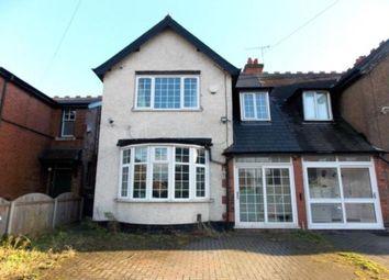 Thumbnail 3 bed semi-detached house for sale in Lyttelton Road, Stechford, Birmingham