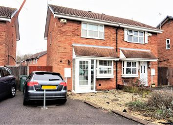 Thumbnail 2 bedroom semi-detached house for sale in Stonefield Close, Coventry