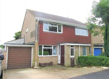 Thumbnail 2 bed semi-detached house for sale in Noble Road, Hedge End, Southampton