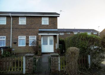 Thumbnail 2 bed end terrace house to rent in Kingfisher Close, Bradwell, Great Yarmouth