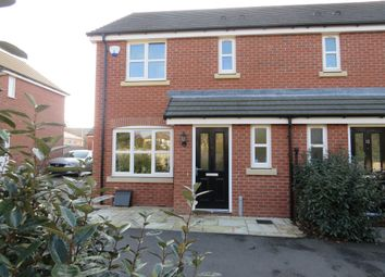 Thumbnail 3 bed semi-detached house for sale in Butler Close, Whitnash, Leamington Spa