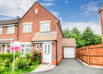 Thumbnail 3 bed end terrace house for sale in Britannia Close, Smallwood, Redditch
