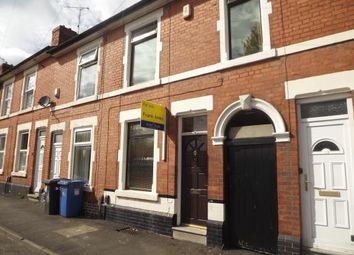 Thumbnail 2 bedroom terraced house for sale in Werburgh Street, Derby, Derbyshire
