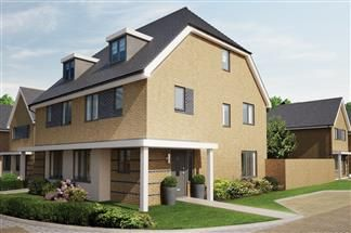Thumbnail 4 bedroom semi-detached house for sale in Bellway At Qeii, Howlands, Welwyn Garden City