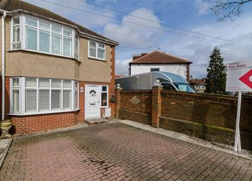 Thumbnail 3 bed end terrace house for sale in Windsor Avenue, North Cheam, Surrey