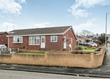 Thumbnail 2 bed semi-detached bungalow for sale in Church Walk, Denaby Main, Doncaster