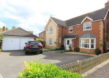 Thumbnail 4 bed detached house for sale in Elgar Way, Horsham, West Sussex
