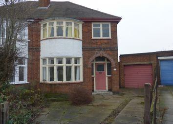 Thumbnail 3 bedroom semi-detached house for sale in Danehurst Avenue, Western Park, Leicester