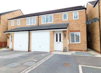 Thumbnail 3 bed semi-detached house for sale in Greylag Gate, Newcastle-Under-Lyme