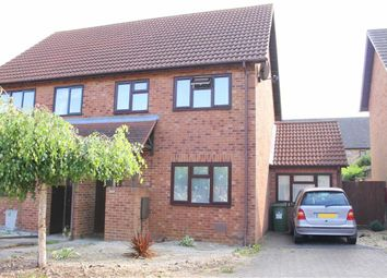 Thumbnail 3 bed semi-detached house to rent in Gaddesden Crescent, Wavendon Gate, Milton Keynes