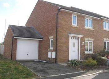Thumbnail 3 bed semi-detached house to rent in Llantillio Drive, Beacon Park, Plymouth