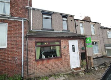 Thumbnail 3 bed terraced house for sale in Clarence Gardens, Crook