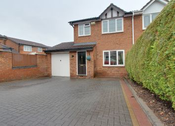 Thumbnail 3 bed semi-detached house for sale in Cleeve, Glascote, Tamworth
