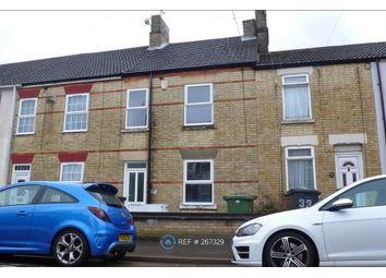 Thumbnail 3 bedroom terraced house to rent in Percival Street, Peterborough