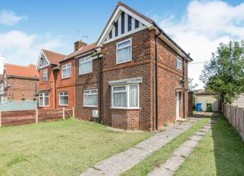 Thumbnail 3 bed semi-detached house for sale in The Crescent, Bircotes, Doncaster