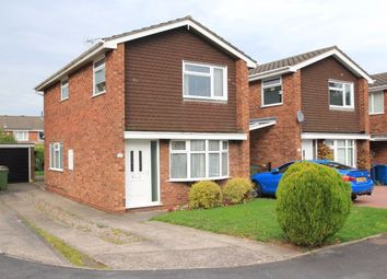 Thumbnail 3 bed detached house for sale in Wycherwood Gardens, Stafford