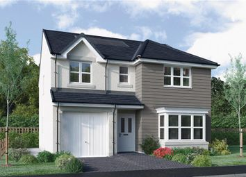 "Thumbnail 4 bed detached house for sale in ""Fletcher"" at East Calder, Livingston"