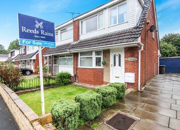Thumbnail 3 bedroom semi-detached house for sale in Olwen Crescent, Reddish, Stockport