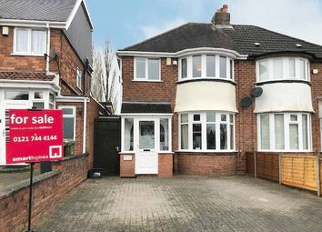 3 bed semi-detached house for sale in Watwood Road, Shirley, Solihull B90