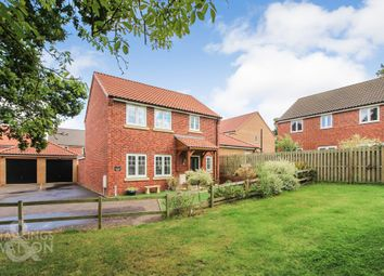 Thumbnail 3 bed detached house for sale in Lime Tree Close, Framingham Earl, Norwich
