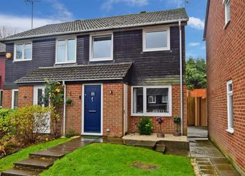 Thumbnail 3 bed semi-detached house for sale in Drake Close, Horsham, West Sussex