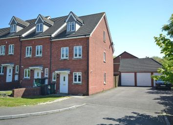 Thumbnail 3 bed terraced house for sale in Spacious Modern Town House, Stelvio Park Gardens, Newport