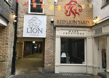 Thumbnail Retail premises to let in Unit 7, Red Lion Yard, Red Lion Walk, Colchester, Essex