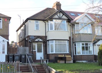 Thumbnail 3 bedroom end terrace house for sale in Crawley Green Road, Luton
