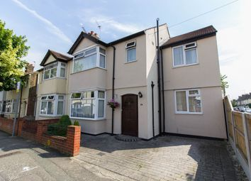 Thumbnail 4 bedroom semi-detached house for sale in Norfolk Road, Romford