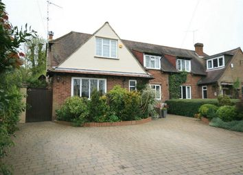 Thumbnail 3 bed semi-detached house for sale in Church Walk, Sawbridgeworth, Hertfordshire