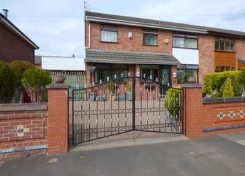 Thumbnail 4 bed semi-detached house for sale in St Agnes Road, Huyton, Liverpool