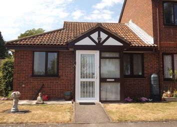 Thumbnail 1 bed bungalow for sale in Warblers Close, Rochester, Kent