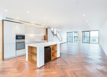 Thumbnail 3 bed flat for sale in Embassy Gardens, Capital Building, London