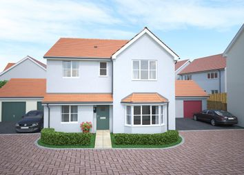 Thumbnail 4 bed detached house for sale in Swallow Field, Roundswell, Barnstaple