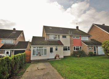 Thumbnail 4 bed semi-detached house for sale in Greyhound Road, Glemsford, Sudbury