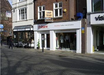 Thumbnail Retail premises to let in 50 Northgate Street, Chester, Cheshire