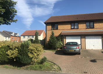 Thumbnail 3 bed semi-detached house for sale in Aerodrome Road, Hawkinge, Kent