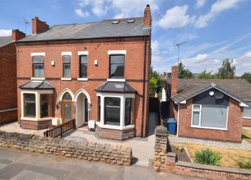 Thumbnail 4 bed semi-detached house for sale in Chantrey Road, West Bridgford, Nottingham