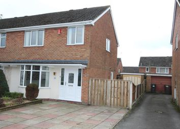 Thumbnail 3 bed semi-detached house to rent in Elmwood Drive, Blythe Bridge, Stoke-On-Trent