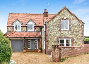 Thumbnail 5 bedroom detached house for sale in Church Street, Thornham, Hunstanton