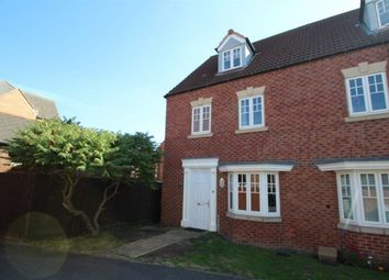Thumbnail 4 bed property to rent in Attenborough Close, Wigston, Leicester
