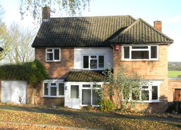 Thumbnail 4 bed detached house to rent in Upper Hall Park, Berkhamsted