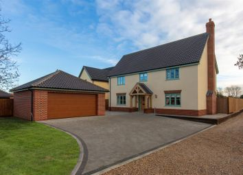 Thumbnail 5 bed detached house for sale in Norwich Road, Besthorpe, Attleborough