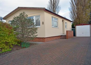 Thumbnail 2 bed detached bungalow for sale in Main Avenue, Charnwood Park Estate, Scunthorpe