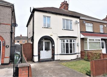 Thumbnail 3 bed semi-detached house for sale in Lichfield Road, Grimsby