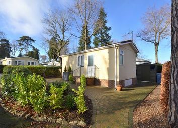 Thumbnail 1 bedroom mobile/park home for sale in Woodland Rise, Grange Estate, Church Crookham, Fleet